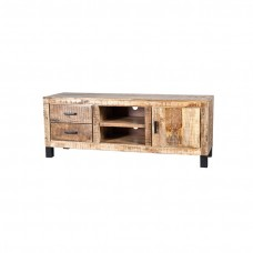 TV meubel Mango hout 1 deur 2 laden