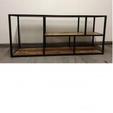TV meubel staal/mango 140 cm