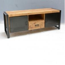 TV meubel mango/staal  150 cm