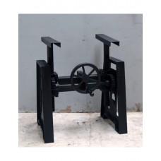 Industriële Metalen onderstel zwart 70 x 50 x 70 cm