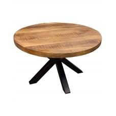 Salontafel rond mango hout 80 cm