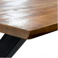 Mango tafelblad recht 160 x 90 cm